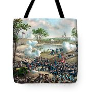 Battle Of Cold Harbor Tote Bag
