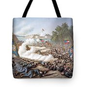 Battle Of Corinth, 1862 Tote Bag by Granger