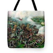 Battle Of Five Forks Tote Bag