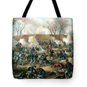 Battle Of Fort Donelson Tote Bag