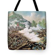 Battle Of Kenesaw Mountain Georgia 27th June 1864 Tote Bag by American School