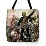 Battle Of Majuba Mountain  Tote Bag