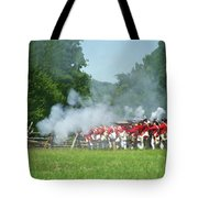Battle Of Monmouth-redcoats Tote Bag