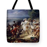 Battle Of Rocroy Tote Bag