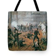 Battle Of Shiloh Tote Bag by T C Lindsay