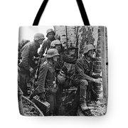 Battle Of Stalingrad  Nazi Infantry Street Fighting 1942 Tote Bag