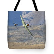 Battle Of The Hawker Sea Furys Tote Bag