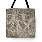 Battle Of The Nudes Tote Bag