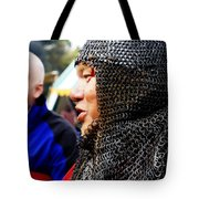 Battle Scared Tote Bag