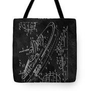 Battleship Patent Tote Bag