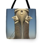 Battleship Wisconsin Bow Tote Bag