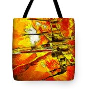 Star Wars X-wing Fighter - Oil Tote Bag