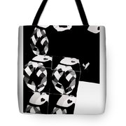 Bauhaus Ballet 2 The Cubist Harlequin Tote Bag