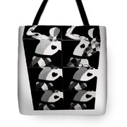 Bauhaus Ballet Six Tote Bag