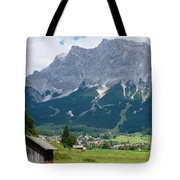 Bavarian Alps Landscape Tote Bag