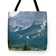 Bavarian Alps With Shed Tote Bag
