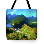 Bavarian Countryside Tote Bag