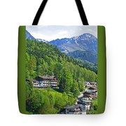 Bavarian Mountainside Tote Bag