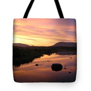 Baxter State Park At Sunset Tote Bag