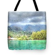 Bay And Greenery Tote Bag