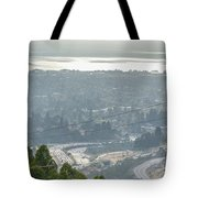 Bay Area Traffic Tote Bag