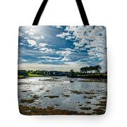Bay At Low Tide In Clonakilty In Ireland Tote Bag