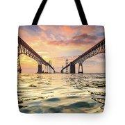 Bay Bridge Impression Tote Bag