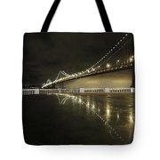 Bay Bridge San Fransico Tote Bag