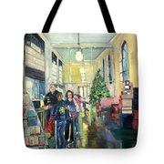Bay City Post Office Tote Bag by Rosemary Kavanagh