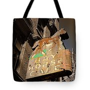 Bay Horse Cafe Sign Tote Bag
