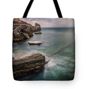 Bay Of The Gulf Of Poets Tote Bag