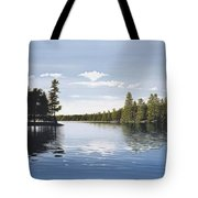 Bay On Lake Muskoka Tote Bag
