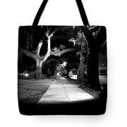 Bay Street Midnight Path Tote Bag