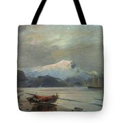 Bay With Boats Tote Bag
