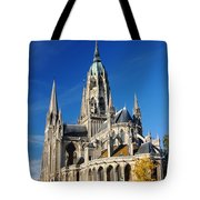 Bayeau Cathedral Tote Bag