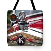 Bayliss Thomas Badge And Hood Ornament Tote Bag