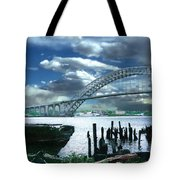 Bayonne Bridge Tote Bag