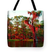 Bayou Pigeon Sunset Tote Bag