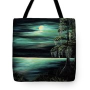 Bayou By Moonlight Tote Bag