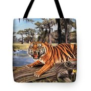 Bayou Mike Of Louisiana Tote Bag