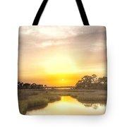 Bayou Sunset Tote Bag
