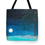 Bayport Moon Rising  Tote Bag