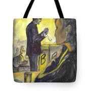 Bb Jazz Tote Bag