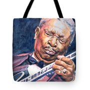 Bb King Tote Bag