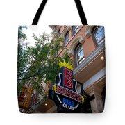 Bb King Bar Nashville Tote Bag