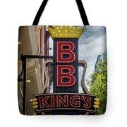 Bb King's Blues Club - Honky Tonk Row Tote Bag
