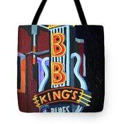 Bb King's Blues Club Tote Bag