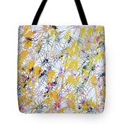 Bumble Bees Against The Windshield - V1lllt46 Tote Bag