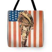 Be A U.s. Marine Tote Bag