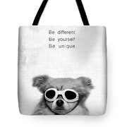Be Different Be Yoursef Be Unique Tote Bag